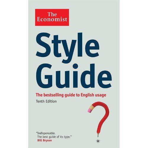 Economist - The Economist Style Guide - Preis vom 13.05.2021 04:51:36 h
