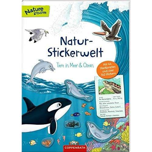 - Natur-Stickerwelt: Tiere in Meer und Ozean: Mit 44 Steckbriefen und über 140 Stickern (Nature Zoom) - Preis vom 15.04.2021 04:51:42 h