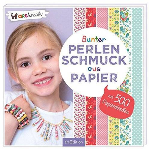 - Bunter Perlenschmuck aus Papier - Preis vom 07.04.2021 04:49:18 h