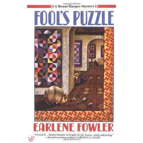 Earlene Fowler - Fool's Puzzle (Benni Harper Mystery) - Preis vom 27.02.2021 06:04:24 h