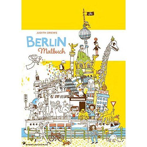 Judith Drews - Malbuch für Erwachsene: Berlin (Kinder und Erwachsene) - Preis vom 22.09.2019 05:53:46 h