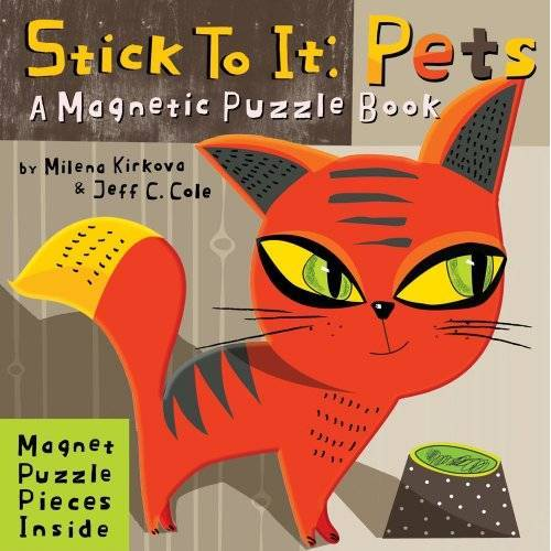 Accord Publishing - Stick to it: Pets: A Magnetic Puzzle Book - Preis vom 10.05.2021 04:48:42 h