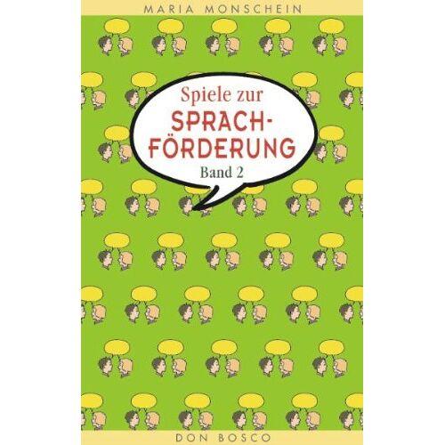 Maria Monschein - Spiele zur Sprachförderung, Bd.2 - Preis vom 08.05.2021 04:52:27 h