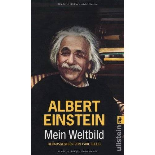 Albert Einstein - Mein Weltbild - Preis vom 07.05.2021 04:52:30 h