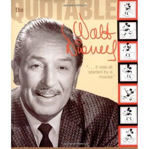 Disney Book Group - Quotable Walt Disney (Cinéma) - Preis vom 03.09.2020 04:54:11 h