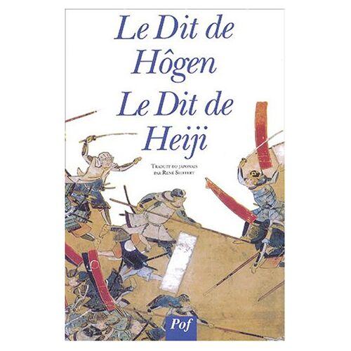 René Sieffert - Le Dit de Hôgen, Le Dit de Heiji - Preis vom 21.10.2020 04:49:09 h
