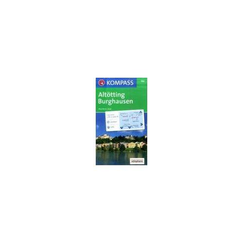 - Altötting-Burghausen 1 : 50 000. GPS-genau - Preis vom 09.05.2021 04:52:39 h