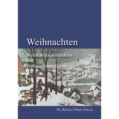 Horst Decker - Weihnachten. Weihnachtsgeschichten und Weihnachtsgedichte - Preis vom 05.09.2020 04:49:05 h