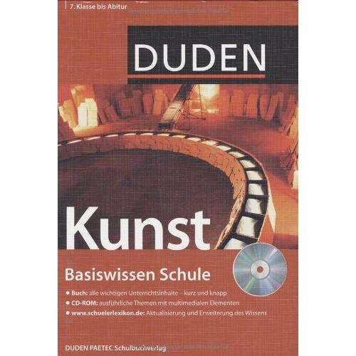Simone Felgentreu - Duden. Basiswissen Schule. Kunst: 7. Klasse bis Abitur - Preis vom 24.06.2020 04:58:28 h