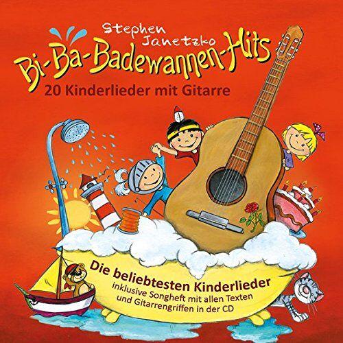 Stephen Janetzko - Bi-Ba-Badewannen-Hits - 20 Kinderlieder mit Gitarre: Die beliebtesten Kinderlieder inklusive Songheft mit allen Texten und Gitarrengriffen in der CD - Preis vom 23.01.2021 06:00:26 h