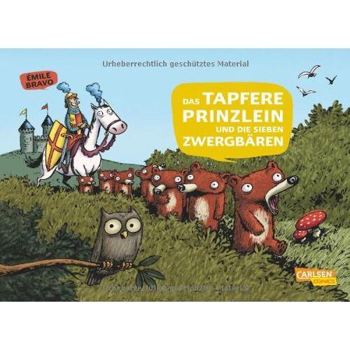 Emile Bravo - Die sieben Zwergbären, Band 1: Das tapfere Prinzlein und die sieben Zwergbären - Preis vom 21.10.2020 04:49:09 h