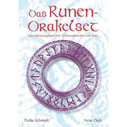 Heike Schmidt - Das Runen-Orakelset: Runendeutungsbuch mit 25 Runenscheiben aus Holz - Preis vom 22.01.2020 06:01:29 h