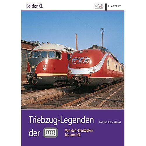 """Konrad Koschinski - Triebzug-Legenden der DB: Von den """"Eierköpfen"""" bis zum ICE - Preis vom 20.10.2020 04:55:35 h"""