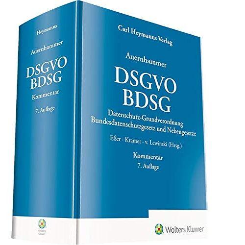 Eßer, Dr. Martin - DSGVO/ BDSG: Datenschutz-Grundverordnung/ Bundesdatenschutzgesetz und Nebengesetze - Preis vom 17.01.2021 06:05:38 h