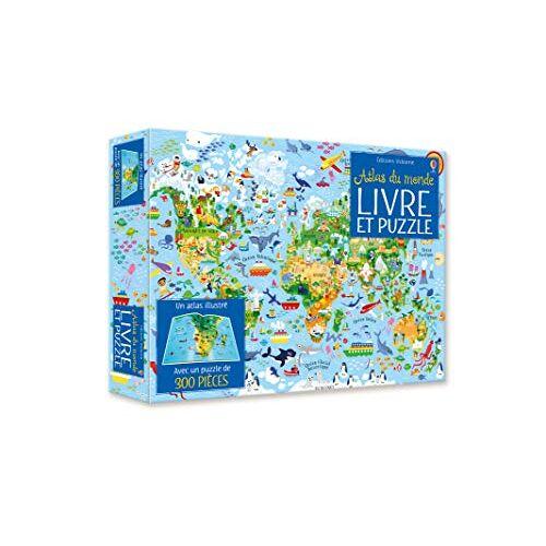 - Coffret Atlas du Monde (Livre et Puzzle) - Preis vom 21.01.2021 06:07:38 h