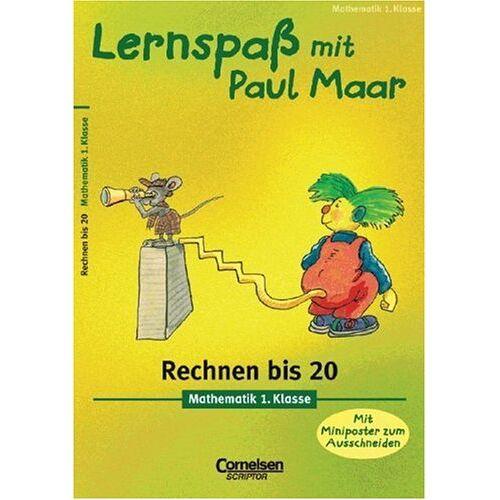 Udo Quak - Lernspaß mit Paul Maar. Rechnen bis 20. Mathematik 1. Klasse - Preis vom 13.05.2021 04:51:36 h