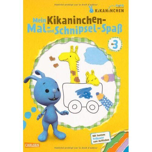 Corinna Fuchs - KiKANiNCHEN: Mein Kikaninchen-Mal- und Schnipsel-Spaß - Preis vom 18.04.2021 04:52:10 h
