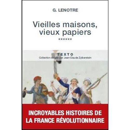 G Lenotre - Vieilles maisons, vieux papiers : Tome 6 - Preis vom 20.10.2020 04:55:35 h