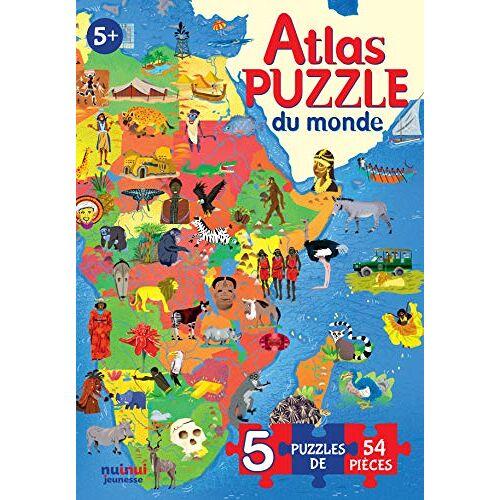 Enrico Lavagno - Atlas Puzzle du Monde - Preis vom 21.01.2021 06:07:38 h
