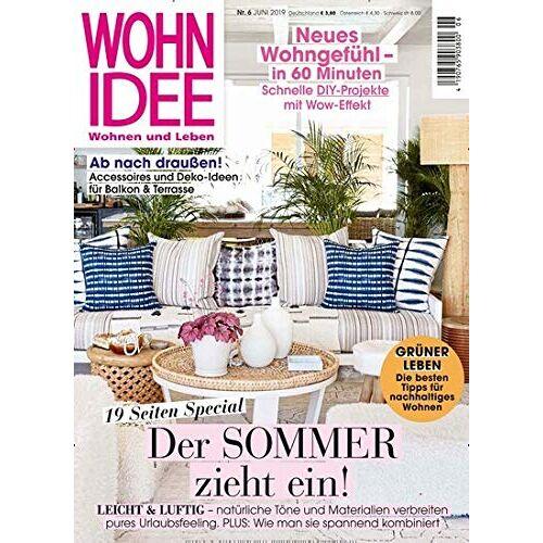 Wohnidee - Wohnidee 6/2019 Der Sommer zieht ein! - Preis vom 20.10.2020 04:55:35 h