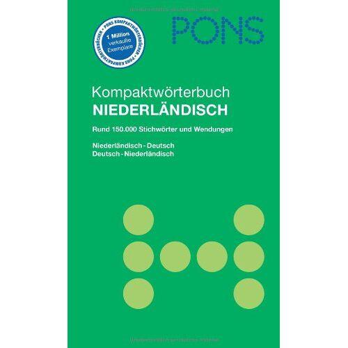 - PONS Kompaktwörterbuch Niederländisch: Niederländisch-Deutsch /Deutsch-Niederländisch - Preis vom 13.01.2021 05:57:33 h
