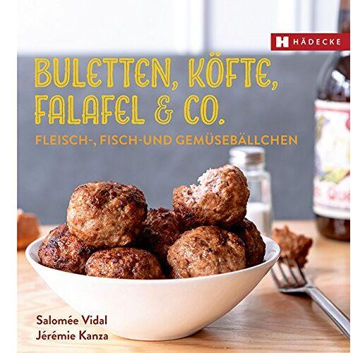 Salomée Vidal - Buletten, Köfte, Falafel & Co.: Fleisch-, Fisch- und Gemüsebällchen (Genuss im Quadrat) - Preis vom 10.05.2021 04:48:42 h