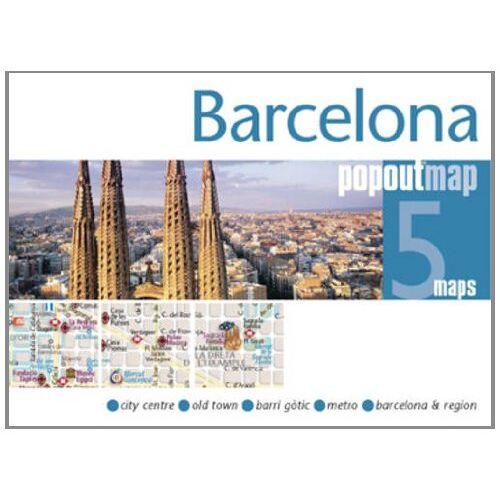 Popout Maps - Barcelona PopOut Maps (PopOut Maps) - Preis vom 20.10.2020 04:55:35 h