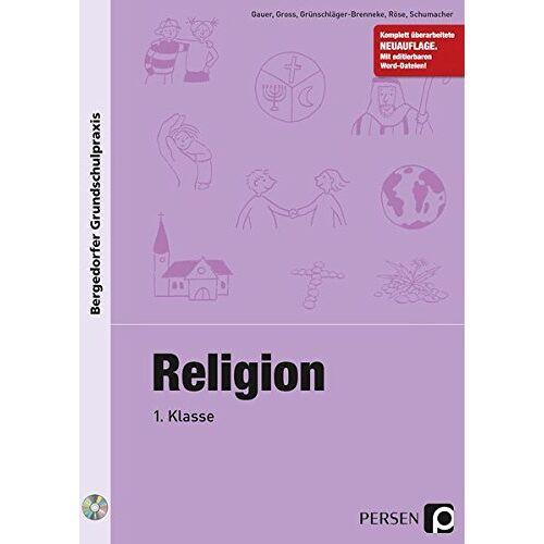 Gauer - Religion - 1. Klasse (Bergedorfer® Grundschulpraxis) - Preis vom 18.04.2021 04:52:10 h