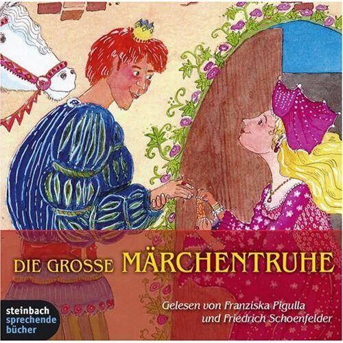 Friedrich Schoenfelder - Die grosse Märchentruhe - 32 Märchen in einer Box. 4 CDs - Preis vom 15.04.2021 04:51:42 h
