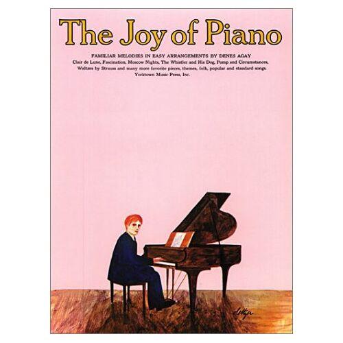 Denes Agay - The Joy of Piano: Easy Piano Solo (Joy Of...Series) - Preis vom 24.02.2021 06:00:20 h