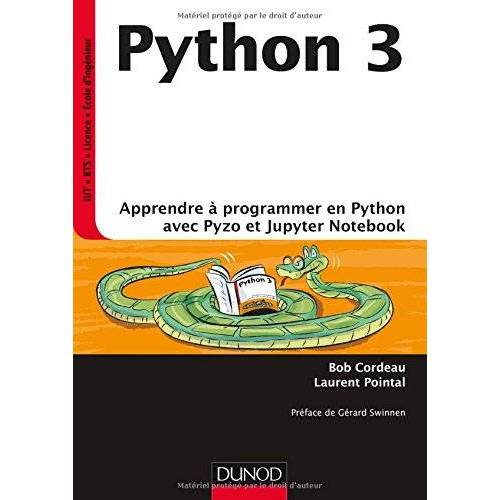 - Python 3 : Apprendre à programmer avec Python et Jupyter Notebook - Preis vom 07.05.2021 04:52:30 h