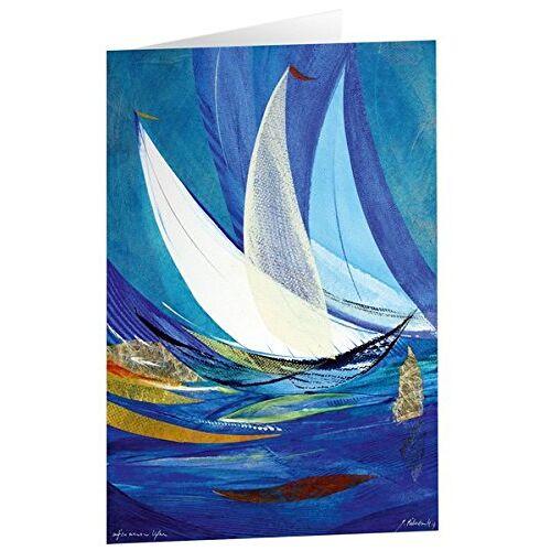 - Kunstkarten Auf zu neuen Ufern - 5 Stk. - Preis vom 06.05.2021 04:54:26 h