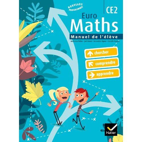 Marie-Lise Peltier - Euro Maths CE2 - Preis vom 28.02.2021 06:03:40 h