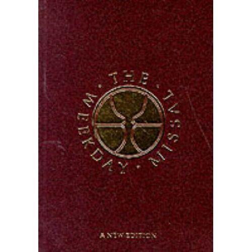J.D. O'Connor - Missal: Weekday Missal - Preis vom 05.03.2021 05:56:49 h