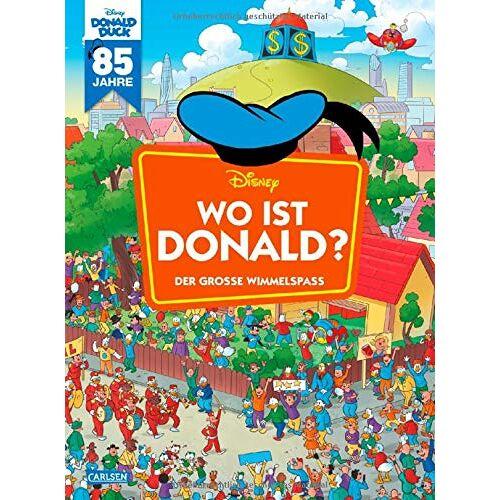 Walt Disney - Disney: Wo ist Donald? – Wimmelbuch mit Donald Duck: Der große Wimmelspaß (Wimmelbuch) - Preis vom 20.09.2020 04:49:10 h