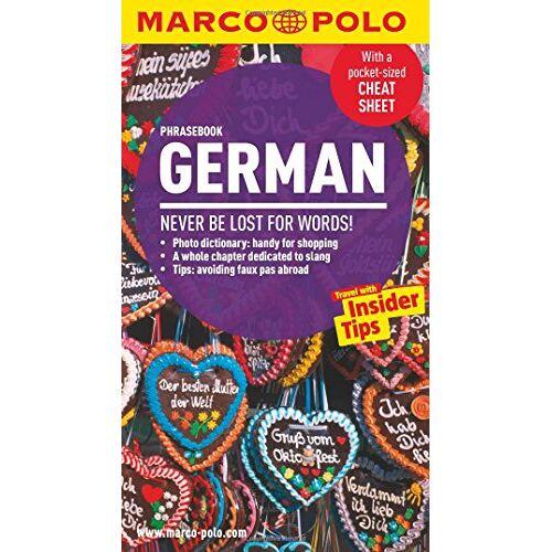 Marco Polo - Marco Polo German Phrasebook (Marco Polo Phrasebook) - Preis vom 08.07.2020 05:00:14 h