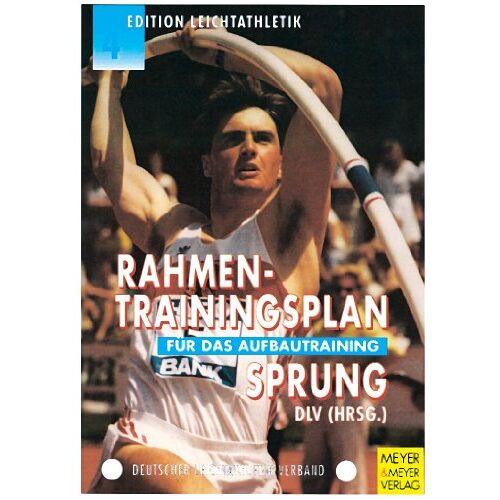 Herbert Czingon - Rahmentrainingsplan für das Aufbautraining, Sprung - Preis vom 07.04.2021 04:49:18 h