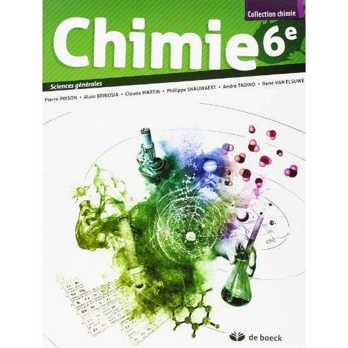 Pirson... - Chimie 6e - 2 Periodes Semaine - Sciences Générales 2 Periodes Chimie/Semaine - Preis vom 12.05.2021 04:50:50 h
