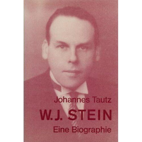 Johannes Tautz - Walter Johannes Stein - Preis vom 14.05.2021 04:51:20 h