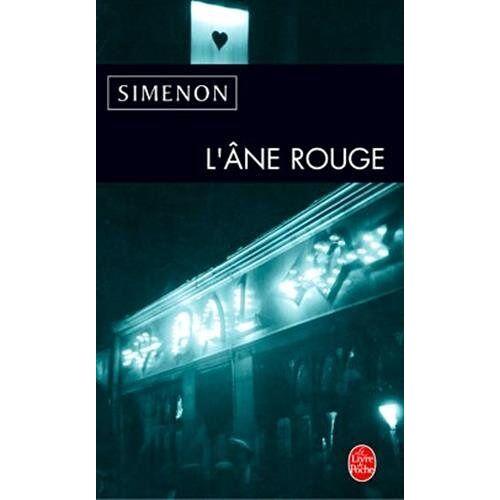G. Simenon - L Ane Rouge (Ldp Simenon) - Preis vom 12.05.2021 04:50:50 h