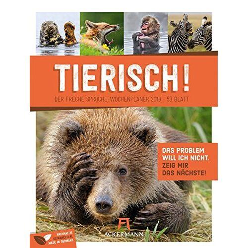 Ackermann Kunstverlag - Tierisch! 2018 - Wochenplaner - Preis vom 23.01.2020 06:02:57 h