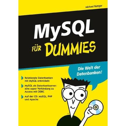 Michael Rüttger - MySQL für Dummies (F?r Dummies) - Preis vom 20.10.2020 04:55:35 h