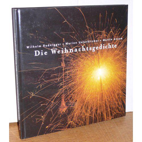 Wilhelm Rudnigger - Die Weihnachtsgedichte - Preis vom 05.09.2020 04:49:05 h