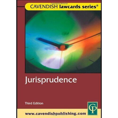 Routledge-Cavendish - Cavendish: Jurisprudence Lawcards - Preis vom 11.05.2021 04:49:30 h