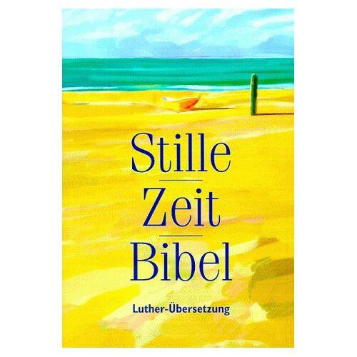 - Stille-Zeit-Bibel: Luther-Übersetzung - Preis vom 18.04.2021 04:52:10 h
