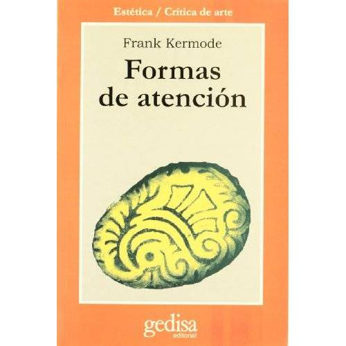 Frank Kermode - Formas de atención - Preis vom 05.05.2021 04:54:13 h
