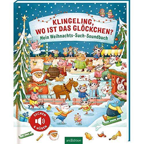 - Klingeling, wo ist das Glöckchen?: Mein Weihnachts-Such-Soundbuch - Preis vom 13.05.2021 04:51:36 h
