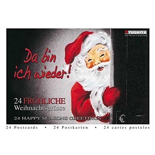 - Da bin ich wieder! 24 fröhliche Weihnachtsgrüße: TUSHITA Postkartenbuch TUBU24 - Preis vom 05.09.2020 04:49:05 h