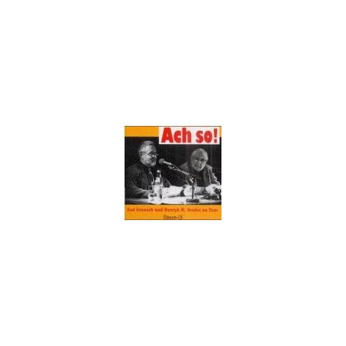 Gad Granach - Ach so! CD. . Gad Granach und Henryk M. Broder on Tour - Preis vom 13.05.2021 04:51:36 h