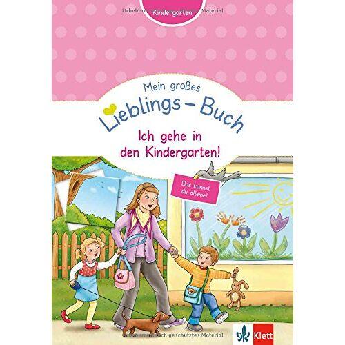 - Klett Mein großes Lieblings-Buch Ich gehe in den Kindergarten! - Kindergarten ab 3: Zählen, ordnen, unterscheiden, erkennen und zuordnen - Preis vom 18.04.2021 04:52:10 h